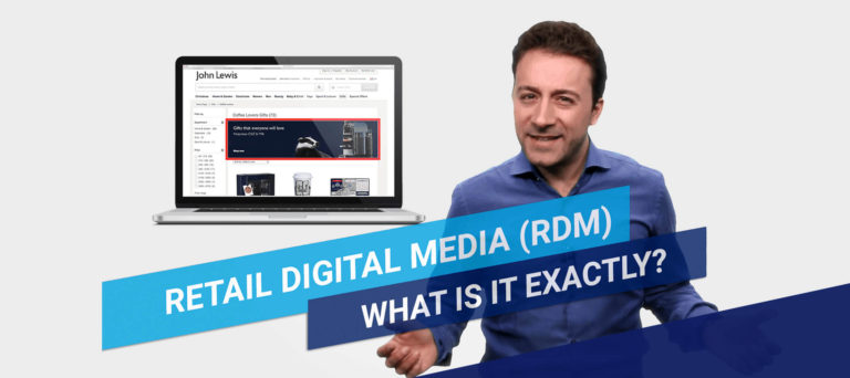 Digital insights in under 2 What is Retail Digital Media RDM Featured Image
