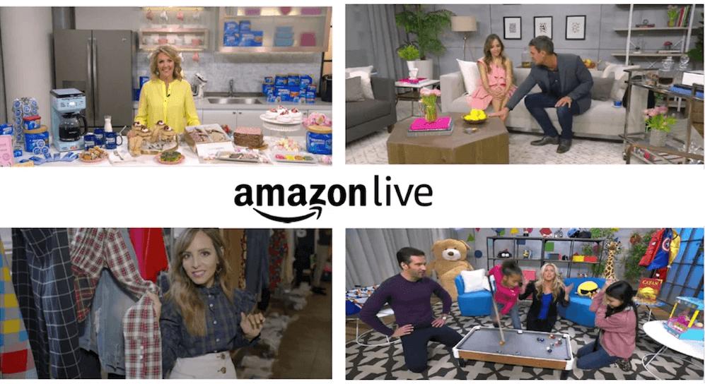 Livestreaming Amazon Live