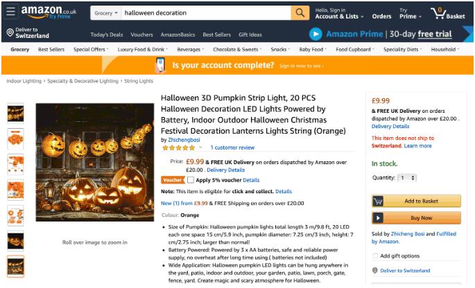 Halloween Example 1