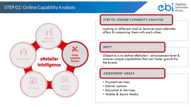 eRetailer Intelligence Step 2