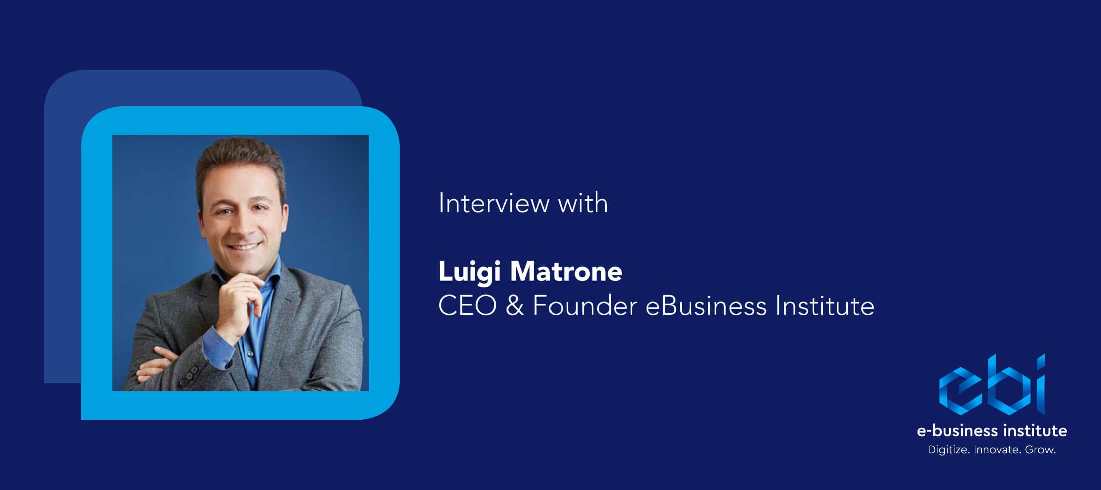 Luigi Matrone interview Wonderflow Hero Image