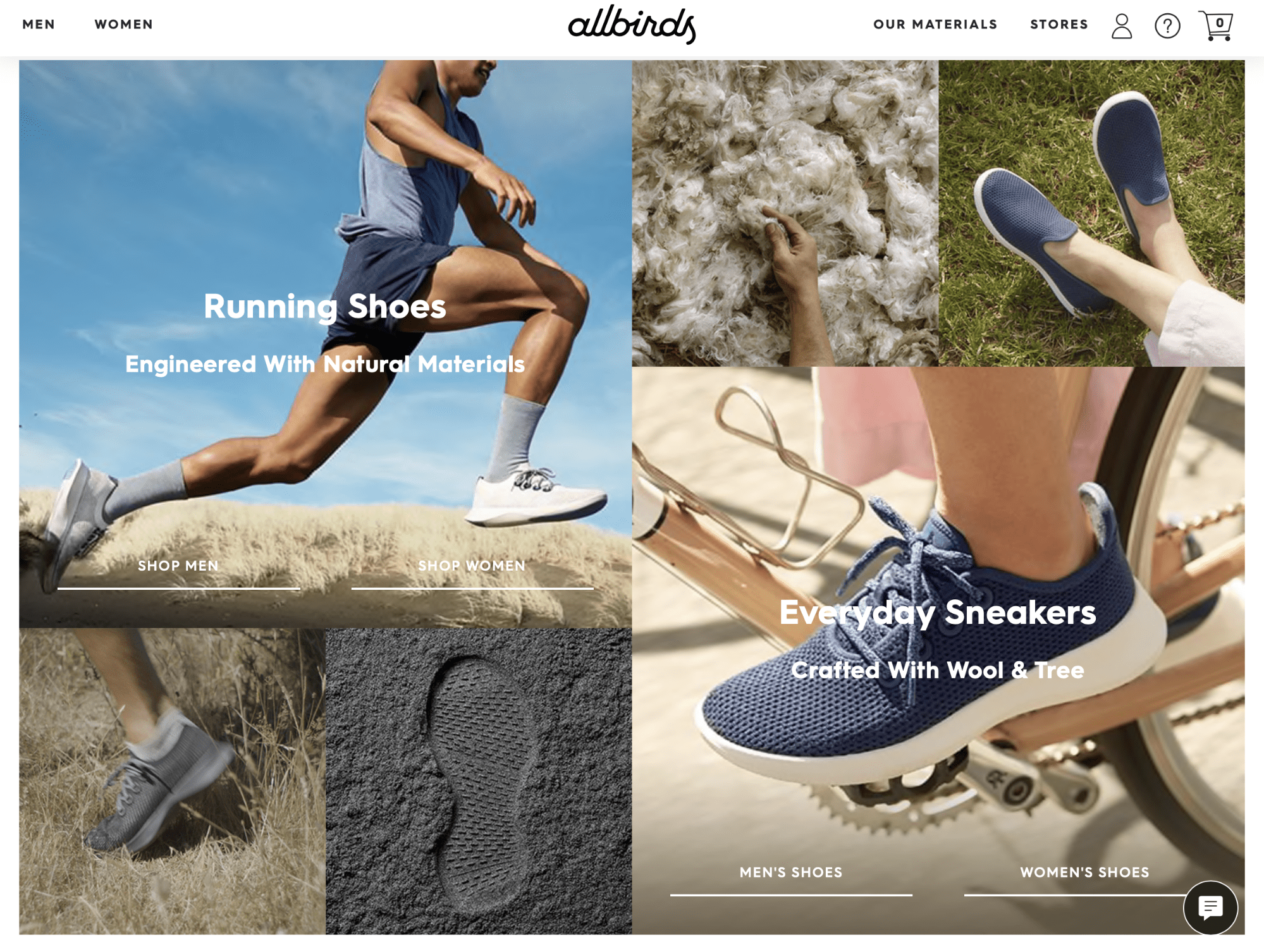Omnichannel new normal Allbirds