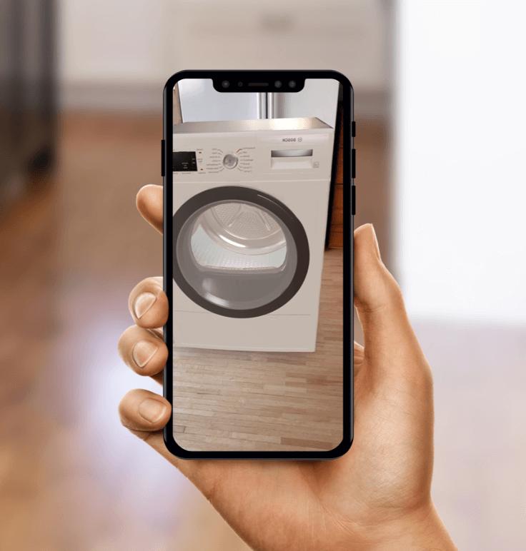 Augmented Reality Swiss Tomato Example
